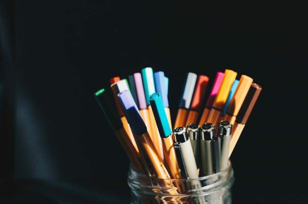 go-through-pens-when-bored